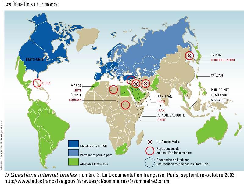 Les Etats-Unis et le monde-septembre-octobre 2003 dans maps خرائط qi3etatsunis